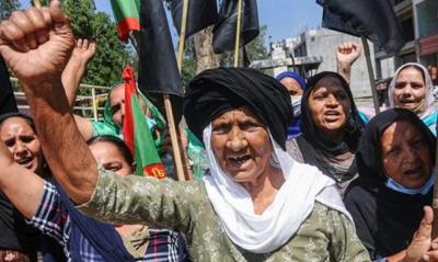 Black-flag-protest
