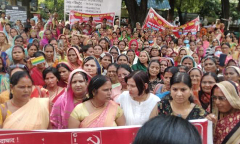 Asha_workers_protest