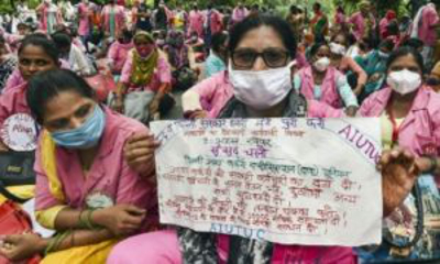 Asha worker_400_New_delhi_Protest